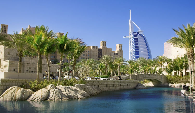 Dubai vue Burj Al Arab