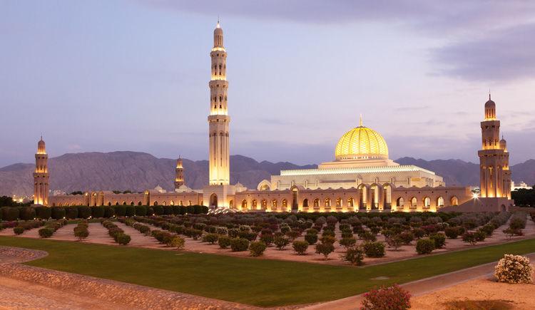 la grande mosquee du Sultan Quaboos