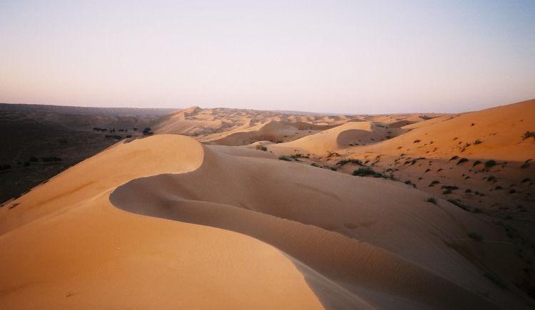 dunes de Wahiba