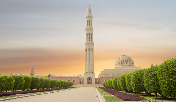 grande mosque Mascate