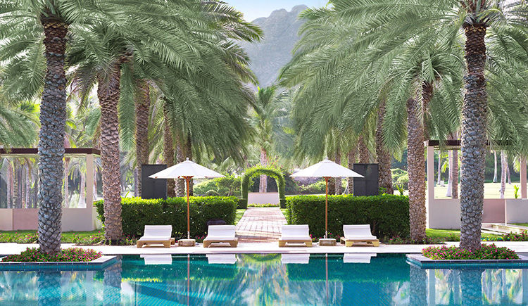 Al Bustan Palace - piscine