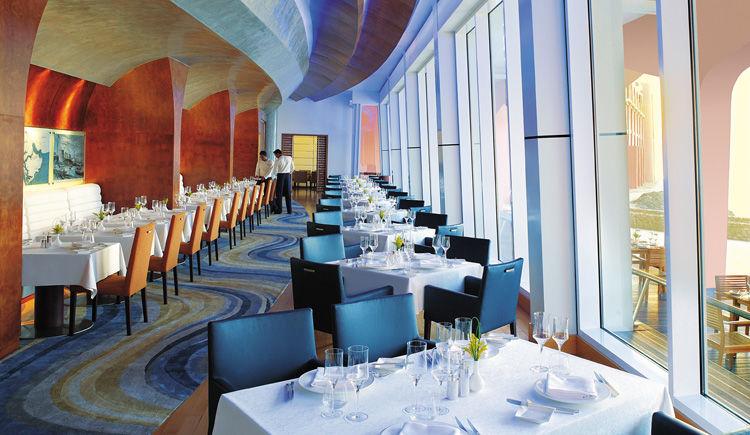 Shangri-La Barr Al Jissah Al Husn restaurant