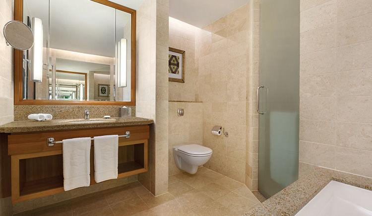 Executive vue mer salle de bain