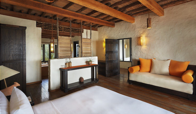 Zighy Pool Villa chambre