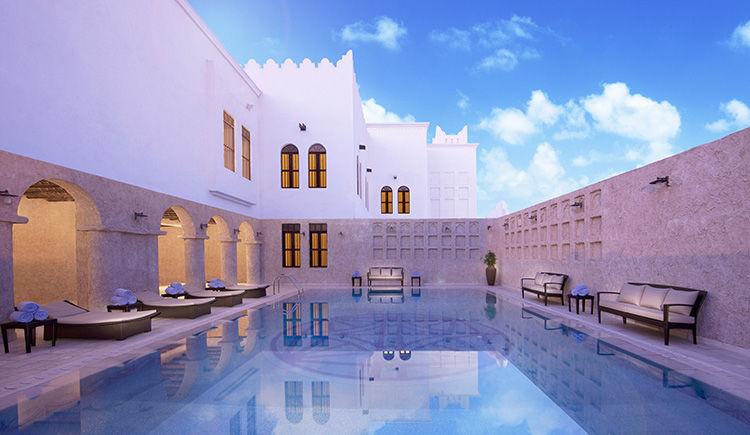Al Mirqab - piscine