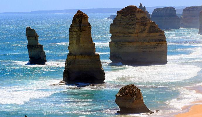 The Twelve Apostles at the Great Ocean Road