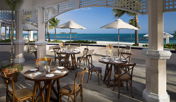 restaurant o grill melia nassau beach resort