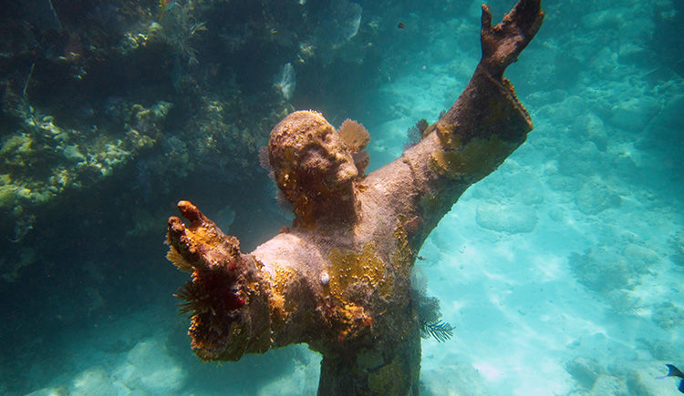 le Christ des Abysses Key West