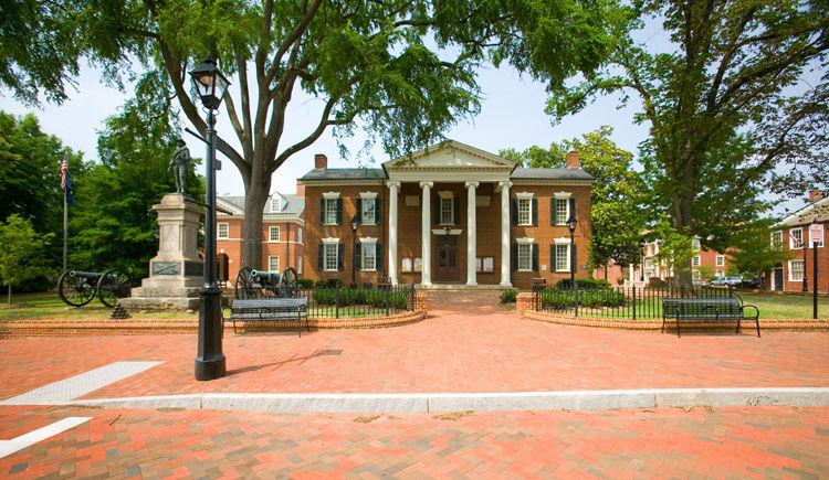 Charlottesville maison du president Thomas Jefferson