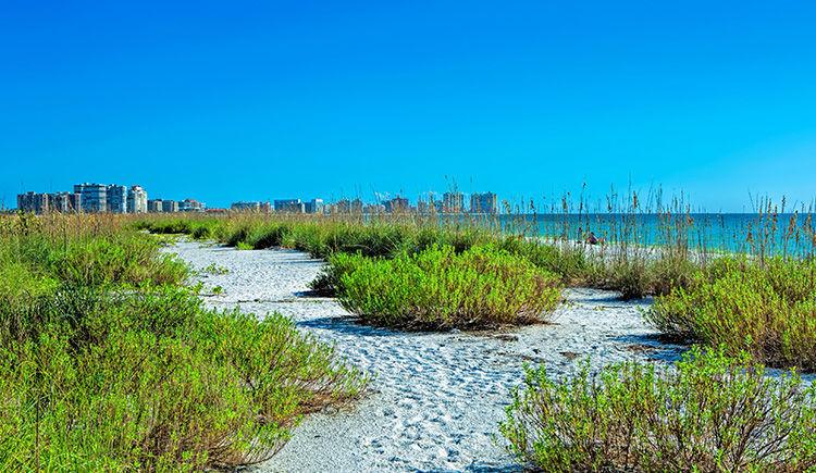 plage de Marco Island