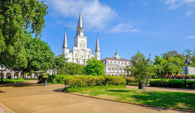 Nouvelle Orleans cathedrale Saint Louis