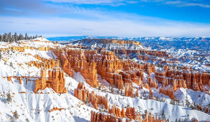 Bryce Canyon en hiver