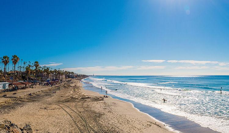littoral de San Diego
