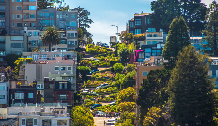 San Francisco rue Lombard