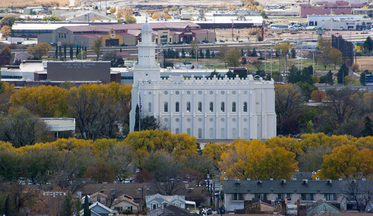 St George temple mormon