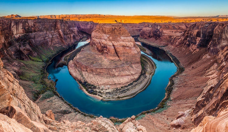 Grand Canyon fleuve Colorado