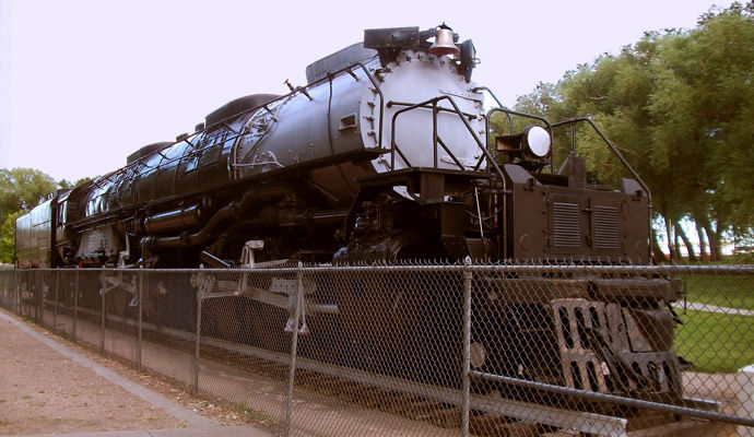 locomotive a vapeur Big Boy