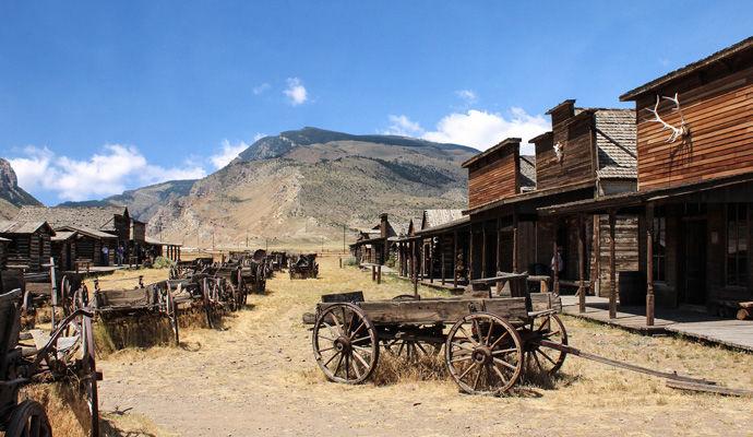 Sur Les Traces de Buffalo Bill