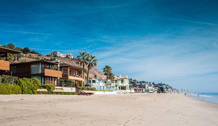 plage de Malibu