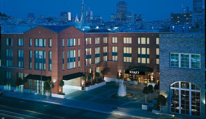 Hyatt at Fishermans Wharf 4 *