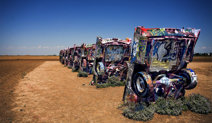 amarillo cadillac ranch