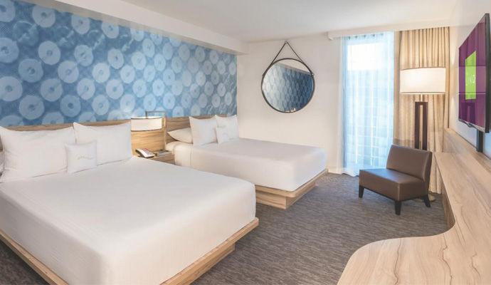 chambre deluxe deux lits doubles