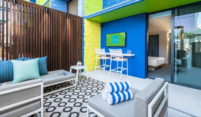 chambre deluxe poolside cabana
