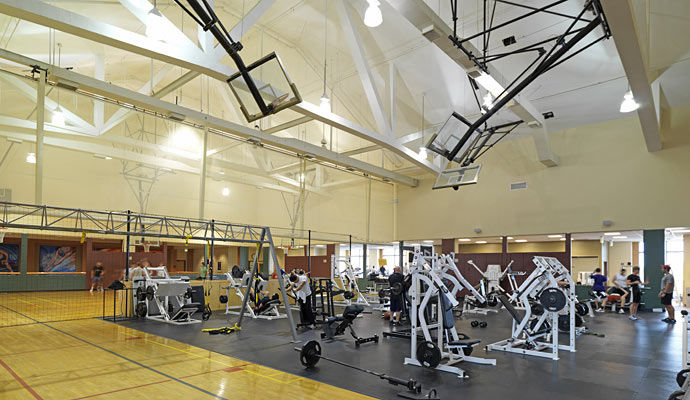 salle de gym
