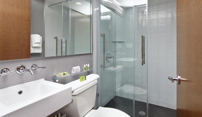 chambre guest salle de bains