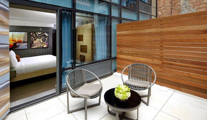king terrasse guestroom