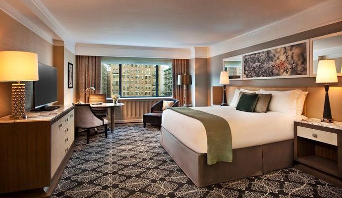 avenue king guestroom